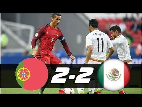 Portugal 2 vs 2 Mexico    Goals and Highlights   18 06 2017 HD