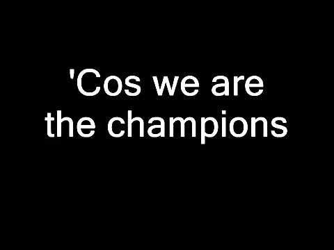 Queen  We Are The Champions Lyrics