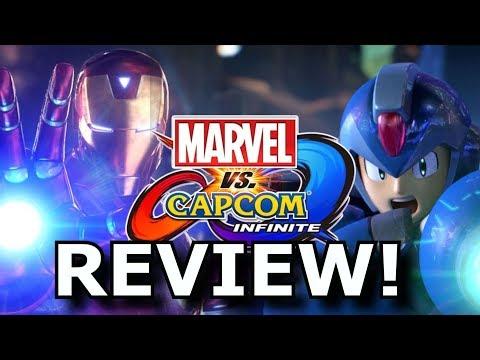 Marvel vs. Capcom: Infinite Review! Super Downgrade? (PS4/Xbox One)