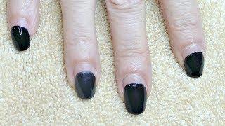 Fastest Gel Soak Off Polish Using Nail Clips No Damage to Natural Nail