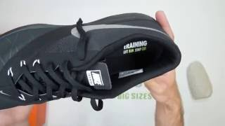 Nike FS Lite 4 - Anthracite / Silver - Walktall | Unboxing | Hands on