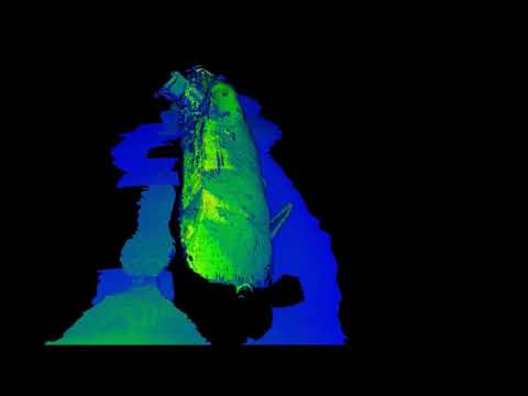 Underwater 3D Laser Scanner - Ship Survey