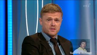 Damien Duff if I live another 100 years I won't experience atmosphere like I did at Anfield
