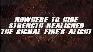Killswitch Engage - The Signal Fire (Lyrics Video)