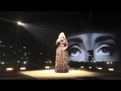 Adele Birmingham Genting Arena - HELLO 30th March