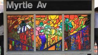 J Train, Myrtle Ave- Bushwick/Bedstuy Brooklyn, NY