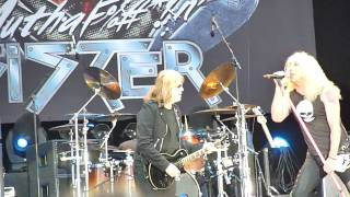 Twisted Sister - Hellfest 2010 - Dio hommage - Long live rock n