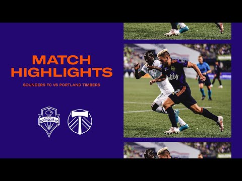 Download HIGHLIGHTS: Seattle Sounders FC vs. Portland Timbers   August 29, 2021