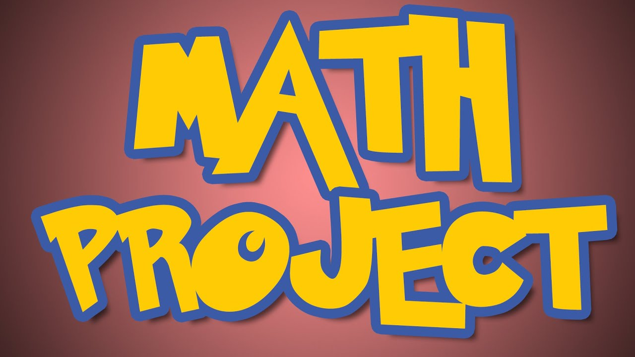 mathematical project The projects section provides information on the project for the course and two sample projects by students.