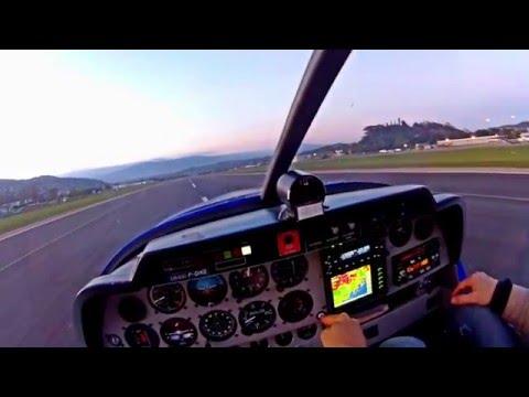 Vol au coucher de soleil à St Tropez