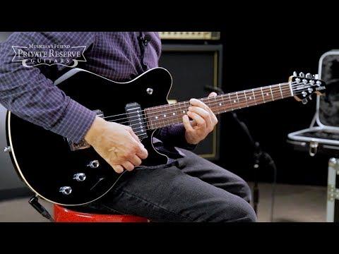 Ernie Ball Music Man Game Changer Reflex HH with Piezo Electric Guitar