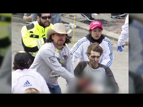 Bombing victim: Suspect was right next to me