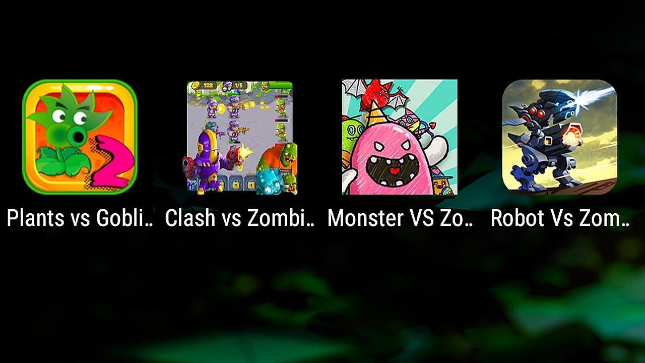 clash of plants