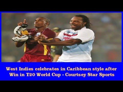 West Indies v Australia final live cricket match WT20, West Indies celebrations after win