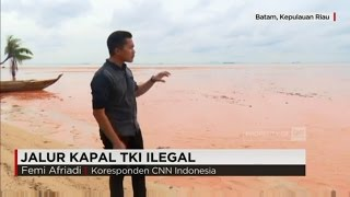 Melihat Lebih Dekat Jalur Kapal TKI Ilegal di Batam