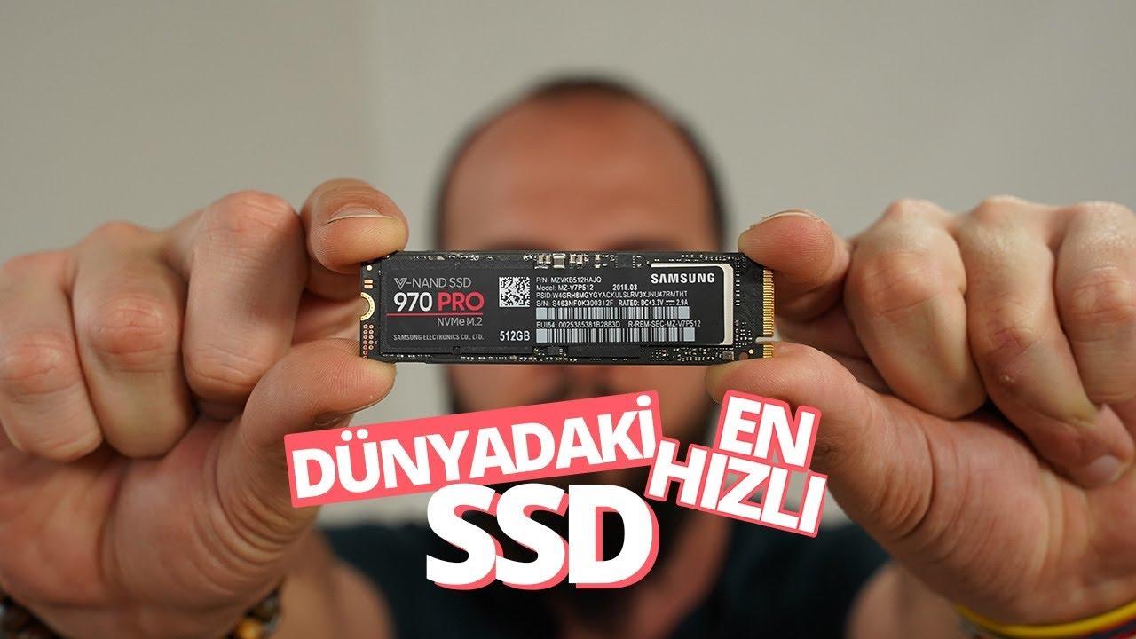 Dünyanın en hızlı SSD'si! - Samsung 970 Pro M.2 SSD inceleme -