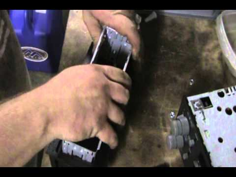 How To Install A Car Stereo Aftermarket Mounting KIT: GM Example
