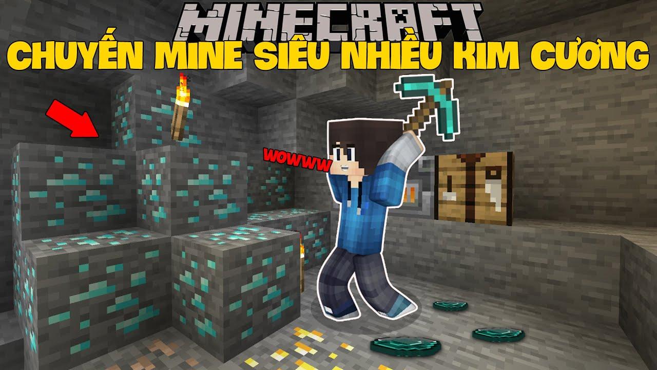 Minecraft Sinh Tồn 1.16 ( Phần 2 ) #3 l Chuyến Mine Siêu Nhiều Kim Cương !!