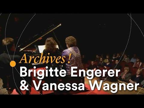 Brigitte Engerer & Vanessa Wagner -- La Nuit du Piano (15 octobre 2010)