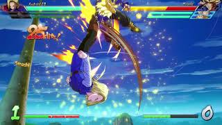 [DBFZ] JG Android 18 - Double Assist Combo clip 03