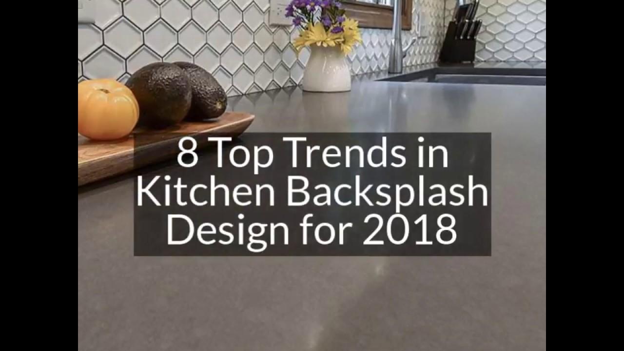 9 Top Trends in Kitchen Backsplash Design for 2019   YouTube