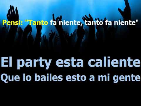 El party - Jake La Furia ft La Profunda Melodia - Karaoke