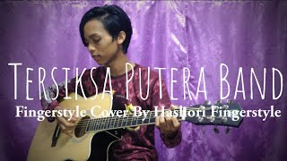*Karaoke* Tersiksa Putera Band Fingerstyle Guitar Cover (instrumentals) With Tabs
