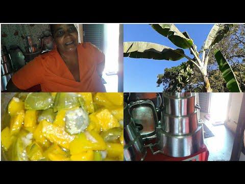 Almoço de Mãe,Como dar Brilho nas Panelas de Alumínio & Como Plantar Pé de Banana