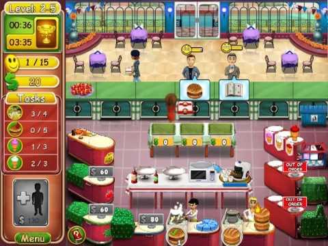Burger Bustle: Ellie's Organics - Level 2-1 ~ 2-8