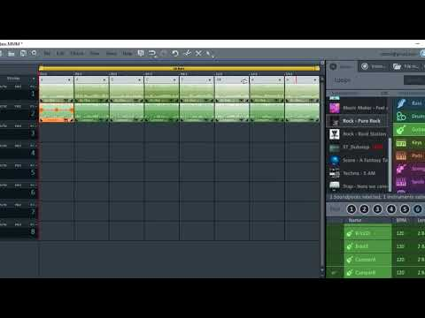 Chord Change in MAGIX Music Maker Plus/Premium
