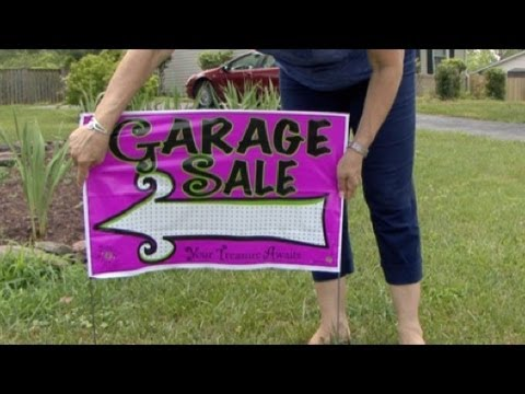 Tips For Planning A Yard Sale