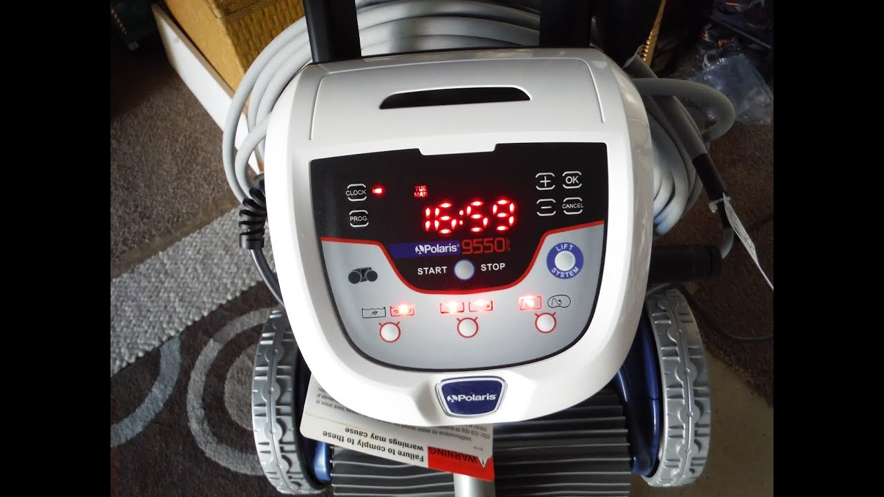 polaris 9550 955 robotic pool cleaner control unit overview [ 1280 x 720 Pixel ]