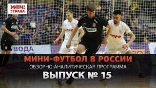Мини футбол в России 15 й выпуск