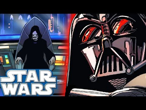 How Palpatine Set a TRAP to Kill Darth Vader (CANON) - Star Wars Comics Explained