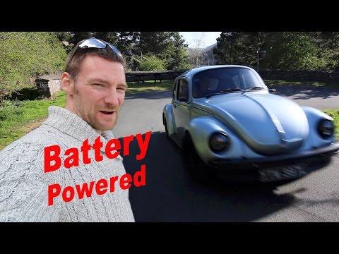 Almost a Supercar - Electric VW Beetle