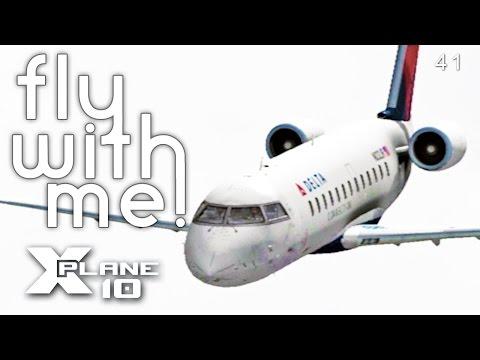 X-Plane 10 #5 Part 2 - Welcome to Phoenix!