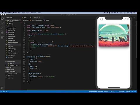 React Native tutorial prop types (Default Props) thumbnail