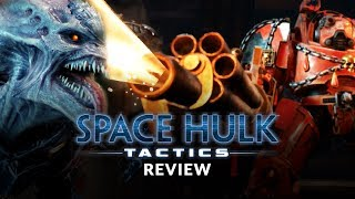 Space Hulk: Tactics Review & Gameplay (Warhammer 40K Turn Based Tactics/Strategy Game)