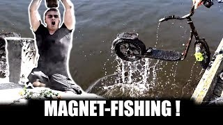 FINDING DIRTY  THINGS - MAGNET-FISHING - WATCHDUTCH MD