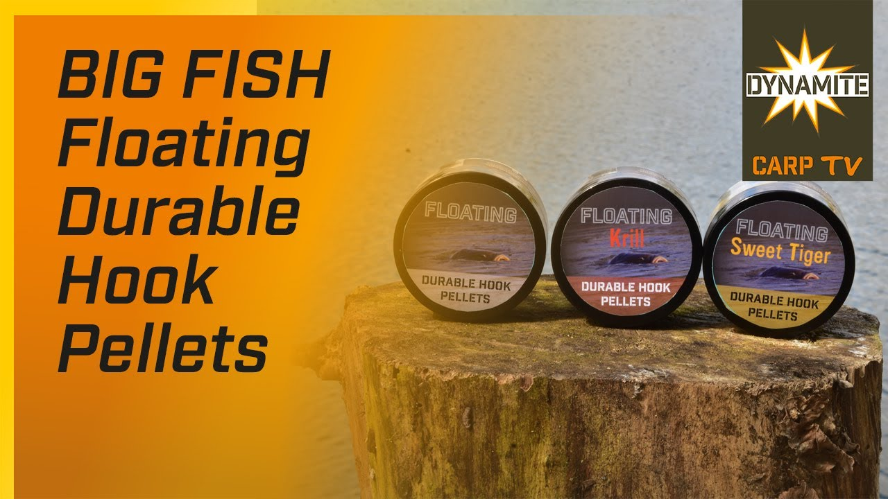 Dynamite Baits Big Fish Durable Hook Pellets 12mm White Fishmeal