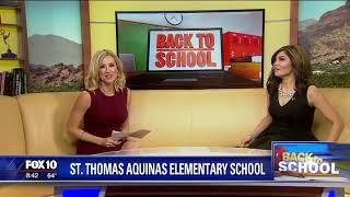 Back to school: St. Thomas Aquinas Elementary School