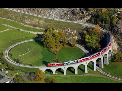 Top 10 Train Routes In Europe HD 2015