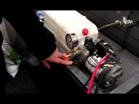 advice for our customer on his newly purchased hydraulic power pack from  flowfit