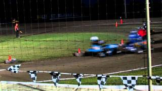 Super Modified Tractor Racing @ Cornwall Motor Speedway