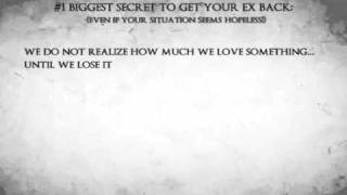 The #1 Secret To Get Your Ex Back