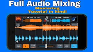 Audio Mixing App For Android ( Hindi) Audio Mixing Kaise Kare   Audio Droid 2020