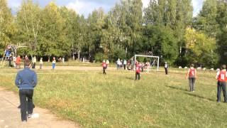 Городские соревнования по лапте 16.09.2014г.(Школа №4-Гимназия №7)