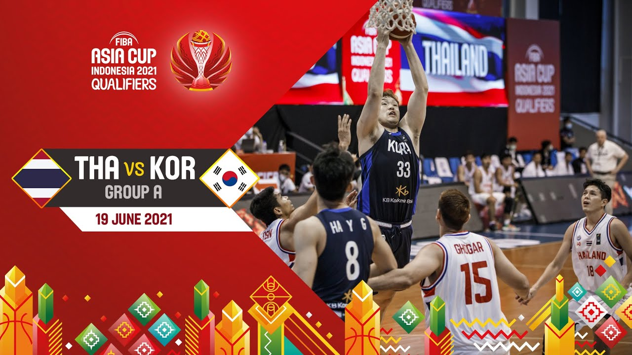 Thailand v Korea | Full Game - Asia Cup 2021 Qualifiers