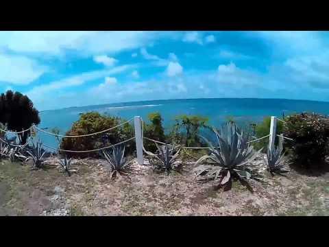 Antigua Trip 2017. Pineapple Beach Club. Apeman A70 Action Camera
