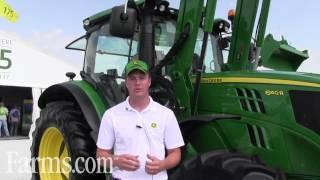New John Deere 6 Family of Tractors 6D Series, 6M Series and 6R Series.